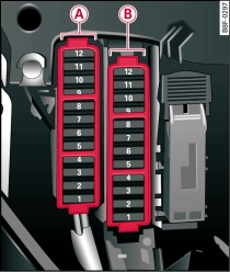 fuse box in audi tt sicherungsbelegung cockpit rechts des    audi    a5  sicherungsbelegung cockpit rechts des    audi    a5